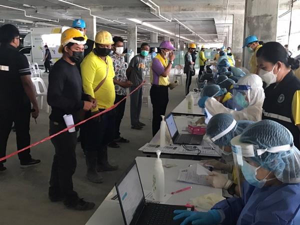 สั่งปิดไซส์ก่อสร้างคลัสเตอร์อยุธยา 3 วัน เพื่อฆ่าเชื้อพร้อมเสนอแผนการป้องกันการแพร่ระบาดในไซต์งานก่อสร้าง