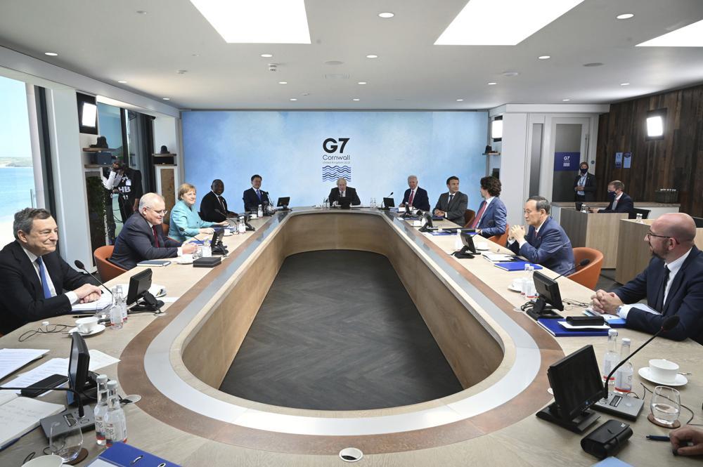 ไบเดนยุ G7 รวมพลังต้านอิทธิพลจีน เปิดแผนสู้โครงการเส้นทางสายไหม