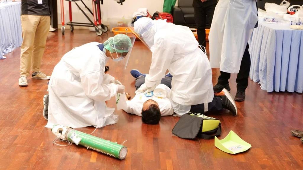 มีเหมือนกัน! ไทยลีก โชว์หลักสูตร CPR ช่วยนักบอลในสถานการณ์ฉุกเฉิน