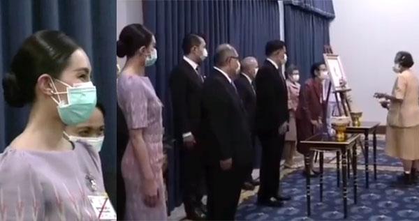 """นับเป็นพระมหากรุณาธิคุณ""""เบลล่า""""ได้รับพระราชทานเข็มที่ระลึกจากกรมสมเด็จพระเทพฯ"""