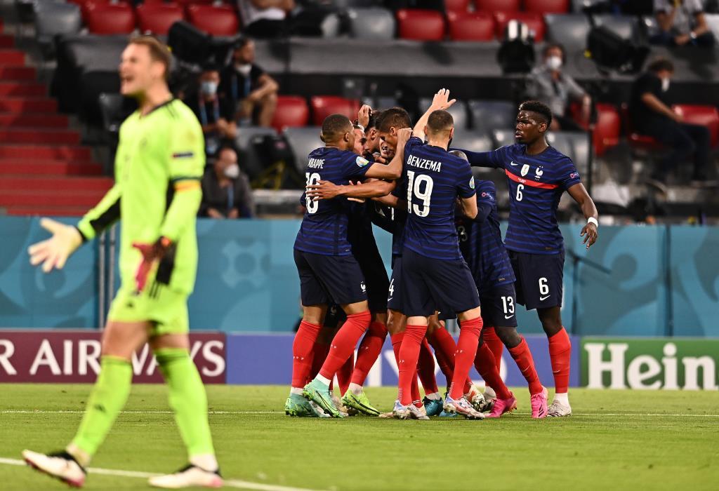 """""""ฮุมเมิลส์"""" ยิงตัวเอง """"ฝรั่งเศส"""" เฉือน """"เยอรมนี"""" 1-0 ซิว 3 แต้มสำคัญ เปิดหัวยูโร 2020"""