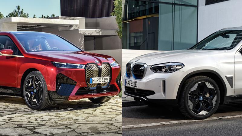 BMW เปิดตัวรถไฟฟ้าสองรุ่นใหม่ iX xDrive50 Sport และ iX3 M Sport