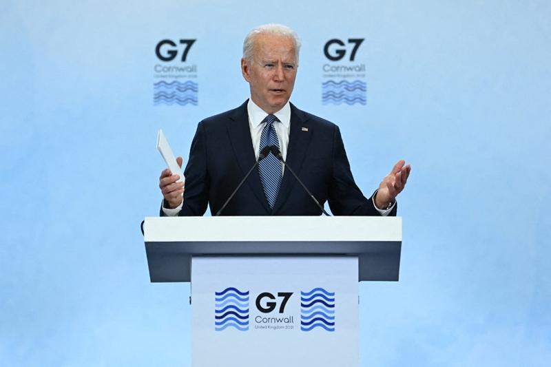 ผลประชุมซัมมิต จี7 ชี้ชัด 'ไบเดน'กล่อม'ยุโรป'ให้ร่วมมือกันต่อต้าน'จีน'ไม่สำเร็จ