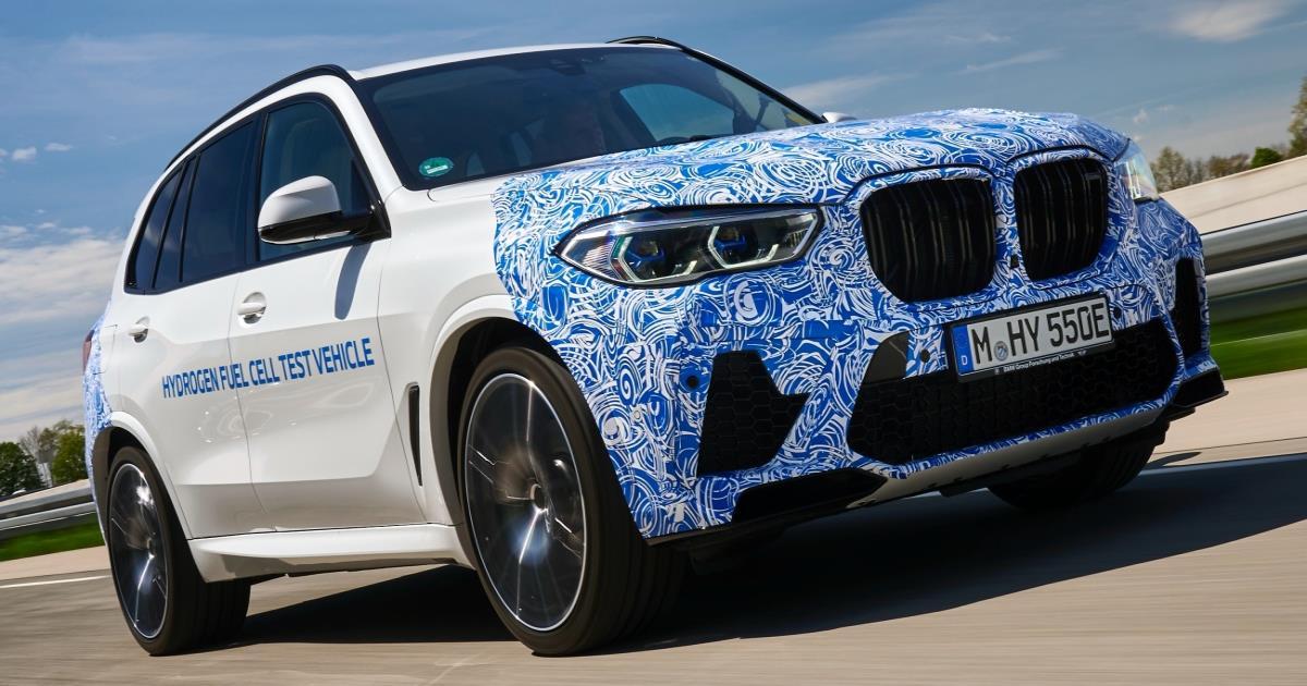 BMW i Hydrogen NEXT เอสยูวีหรูขุมพลังไฮโดรเจนเริ่มวิ่งทดสอบแล้ว