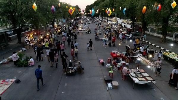 เตรียมเปิดถนนคนเดินขอนแก่นเสาร์นี้ กระตุ้นเศรษฐกิจหลังปิดมาร่วม 4 เดือน