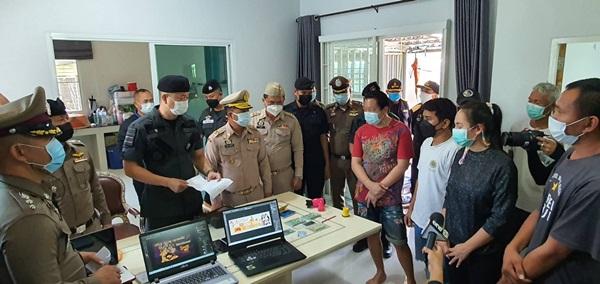รอง ผบช.ภ.2 นำกำลังเข้าจับกุมกลุ่มพนันออนไลน์แนวชายแดน -เข้มป้องกันต่างด้าวลอบข้ามแดน