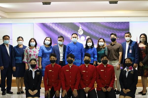 """อาชีวภูเก็ต จับมือ พช.อนุรักษ์ผ้าไทย จัด FASHION WEEK โชว์ผ้าบาติก """"ลายขอเจ้าฟ้าสิริวัณณวรีฯ""""  เชื่อม EDUCATION STUDIO"""