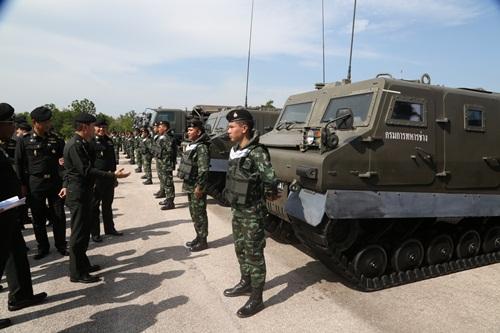 กรมการทหารช่าง แจงคลัสเตอร์ 72 นายสิบ ติดโควิดจากครูฝึก คุมเข้มไม่แพร่สู่ภายนอก