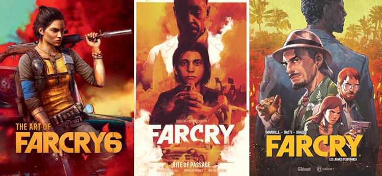 """Ubisoft เปิดตัว """"การ์ตูน-นิยาย"""" ภาคขยายจักรวาล Far Cry"""