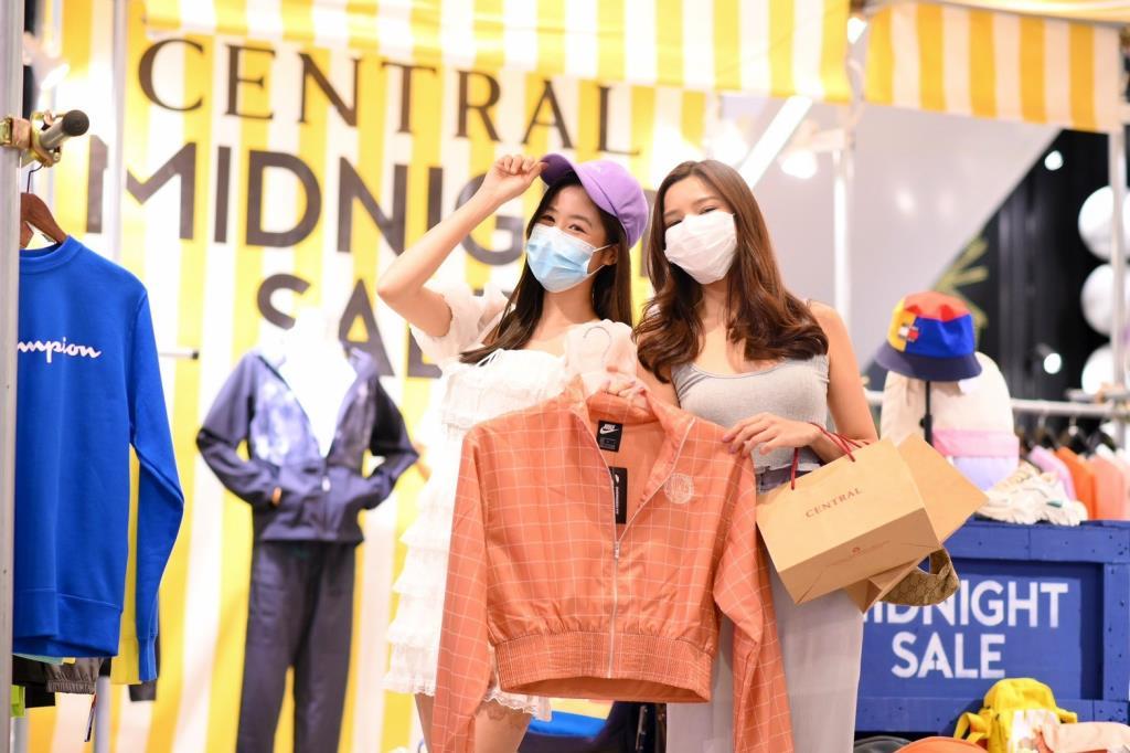 ห้างเซ็นทรัล เปิดแคมเปญ Midnight Sale ปลุกช้อปปิ้ง