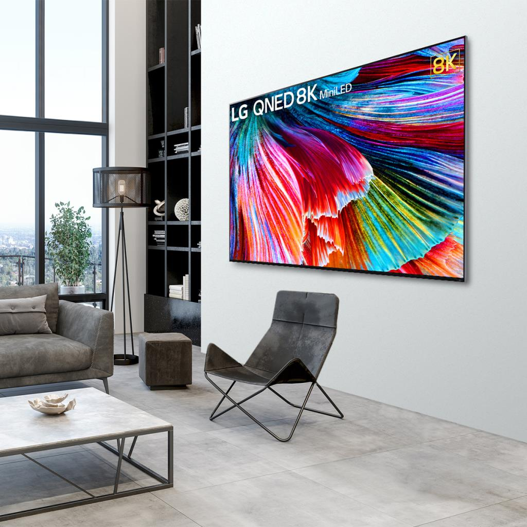 แอลจีส่งนวัตกรรมทีวีไฮเทค OLED evo - QNED Mini LED