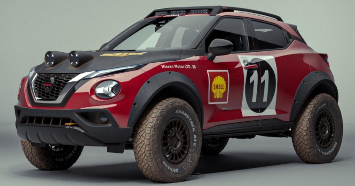 Nissan Juke Rally Tribute Concept ต้นแบบครอสโอเวอร์สไตล์แรลลี่ย้อนยุค