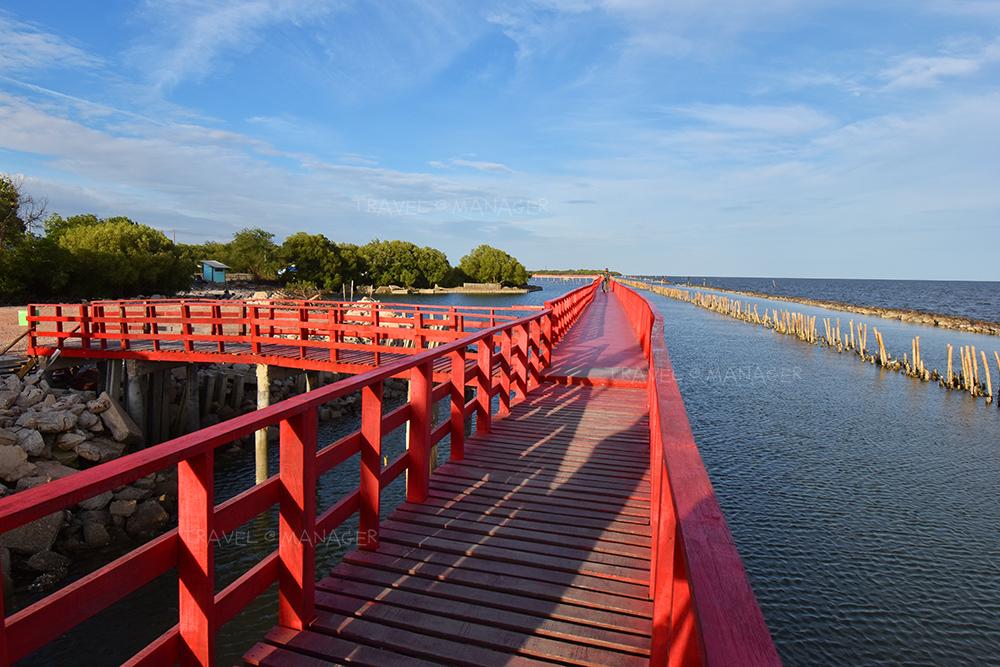 สะพานแดง สมุทรสาคร