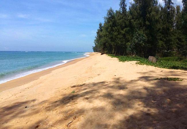 ความสวยงามของหาดทรายแก้ว (ภาพจากสำนักอุทยานแห่งชาติ)