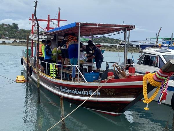 พบแล้ว! ศพชาวประมงออกวางอวน ถูกคลื่นซัดเรือจม ดับอนาถ