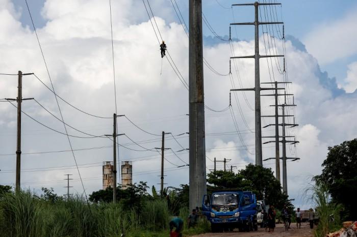 การไฟฟ้าย่างกุ้งเตือนหยุดจ่ายกระแสไฟ หลังประชาชนไม่ยอมจ่ายบิลประท้วงรัฐบาลทหาร