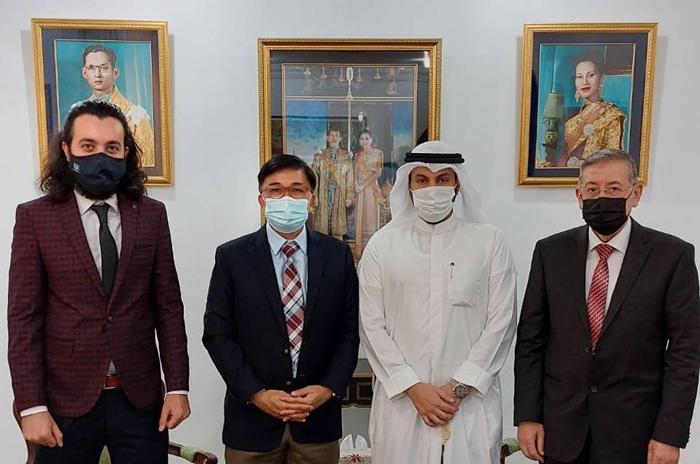เอกอัครราชทูตไทยพบ ปธ.บริษัทท่องเที่ยวยักษ์ใหญ่คูเวต เผยมีชาวคูเวตกว่า 220 คน สนใจเดินทางมาตามโครงการ Phuket Sandbox