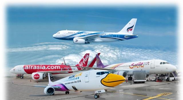 บางกอกแอร์เวย์ส-ไทยเอเอเชียแจ้งหยุดบินสายการบินในประเทศชั่วคราว