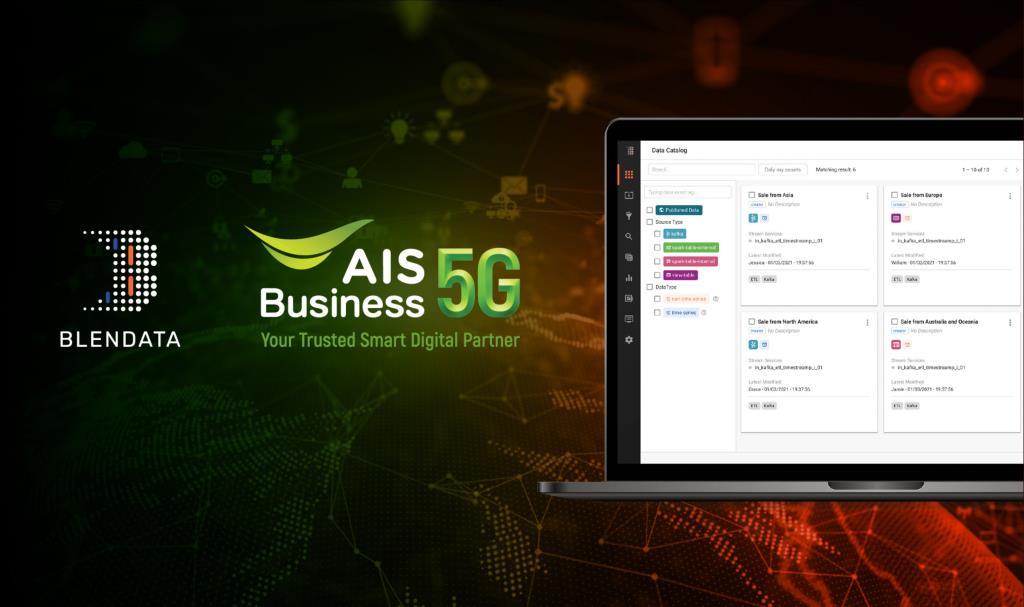 Blendata ร่วมมือ AIS Business เปิดแพลตฟอร์ม Big Data ช่วยองค์กรลดต้นทุน เพิ่มศักยภาพการแข่งขัน