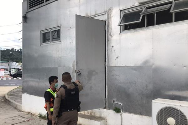 เหิมหนัก 2 คนร้ายลักตัดสายไฟห้องควบคุมไฟฟ้าในอุโมงค์ทางลอด โลตัส - สามกอง