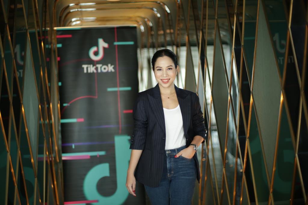 สิรินิธิ์ วิรยศิริ หัวหน้าฝ่ายธุรกิจการตลาดของ TikTok
