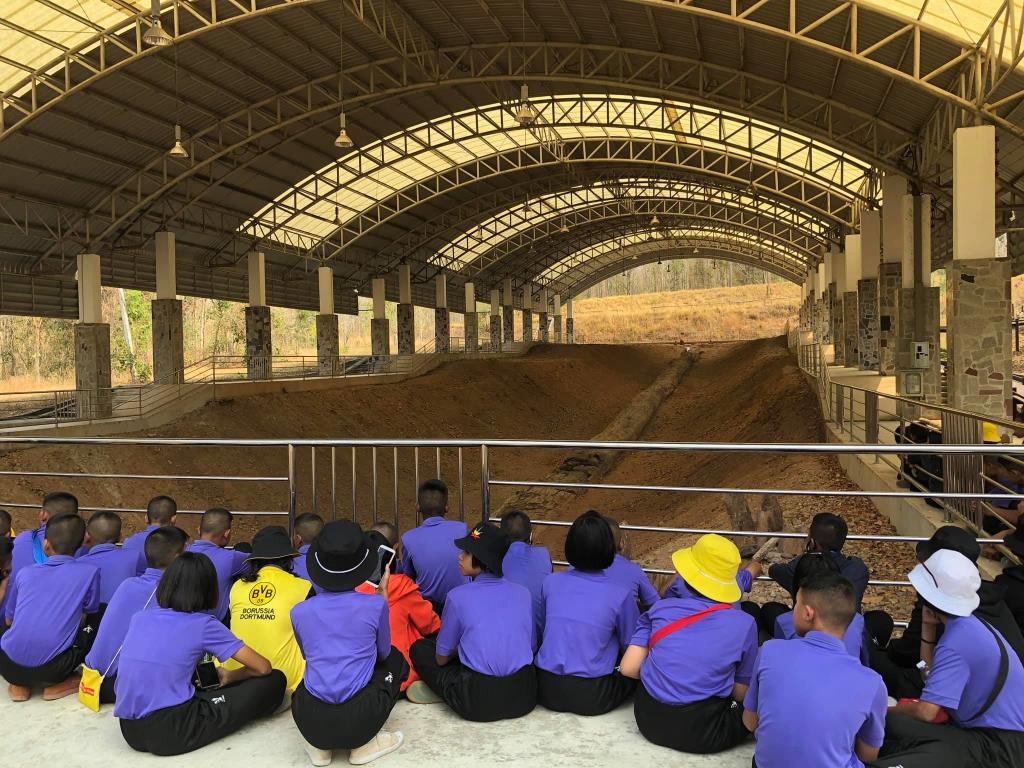 ไม้กลายเป็นหินตาก หนึ่งในแหล่งท่องเที่ยวเรียนรู้ด้านธรณีวิทยาที่สำคัญของเมืองไทย (ภาพ : อช.ดอยสอยมาลัย)