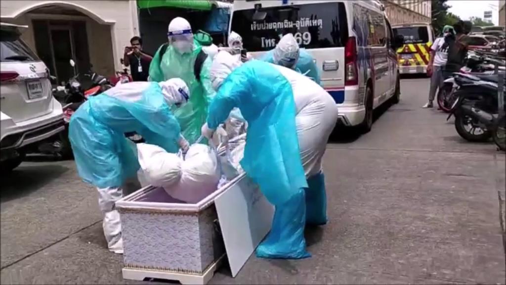รปภ.ติดเชื้อโควิดอาการทรุดไม่มีเตียงรักษา เครียดผูกคอฆ่าตัวตายในคอนโดย่านบางบัวทอง