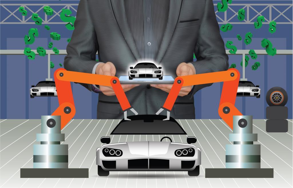 ธุรกิจรับจ้างผลิตรถ อีวี  โมเดลใหม่อุตสาหกรรมรถ