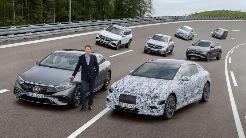 เมอร์เซเดส-เบนซ์ เตรียมก้าวเป็นผู้ผลิตรถยนต์ไฟฟ้าเต็มตัวตั้งแต่ปี 2568 เป็นต้นไป