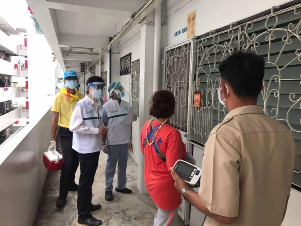 CCRT 166 ทีม เร่งค้นหาและส่งต่อผู้ป่วยโควิด-19 เข้าสู่ระบบการักษา ตั้งเป้า 31 ก.ค. ลงพื้นที่ 1,158 ชุมชน