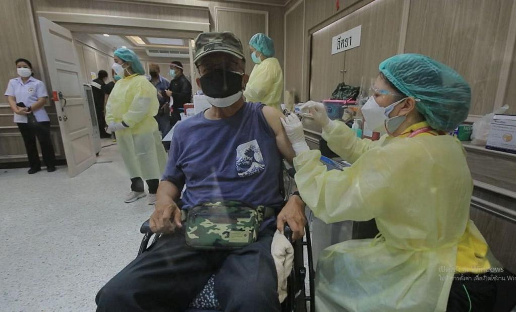อผศ.รับทหารผ่านศึก-ครอบครัว ฉีดวัคซีนป้องโควิด-19