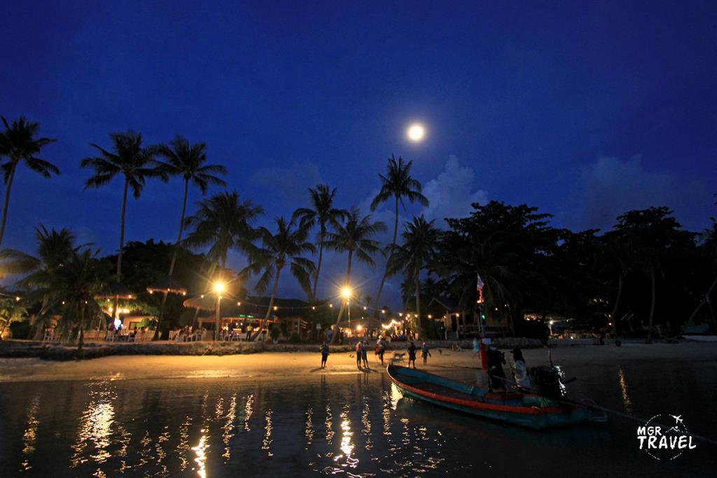เกาะพะงัน วันพระจันทร์เต็มดวง