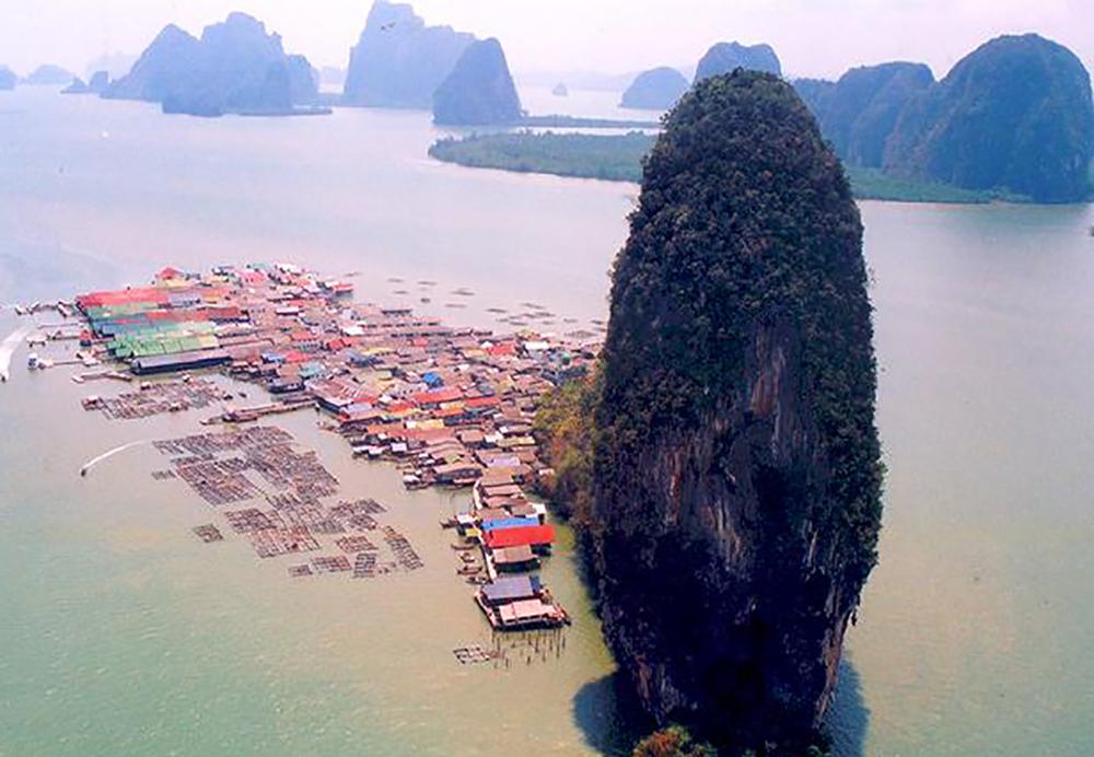 เกาะปันหยี (ภาพจากสำนักอุทยานแห่งชาติ)