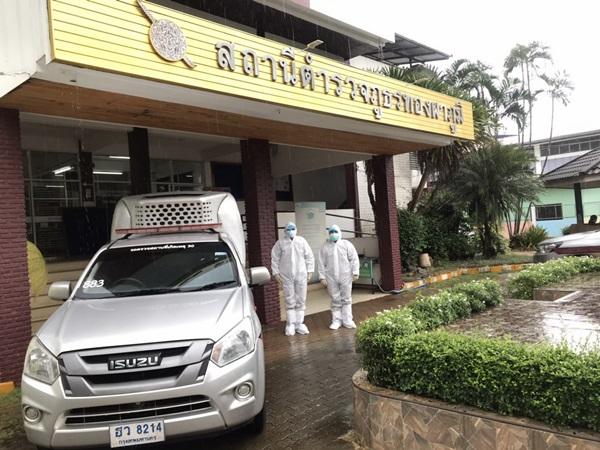 ตำรวจเมืองกาญจน์ ทั้ง 21 สภ. พร้อม รับผู้ป่วยติดเชื้อโควิด-19 ส่งสถานพยาบาล 24 ชม.
