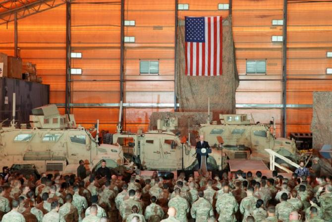 ทหารสหรัฐฯ ที่ประจำการอยู่ในอิรัก