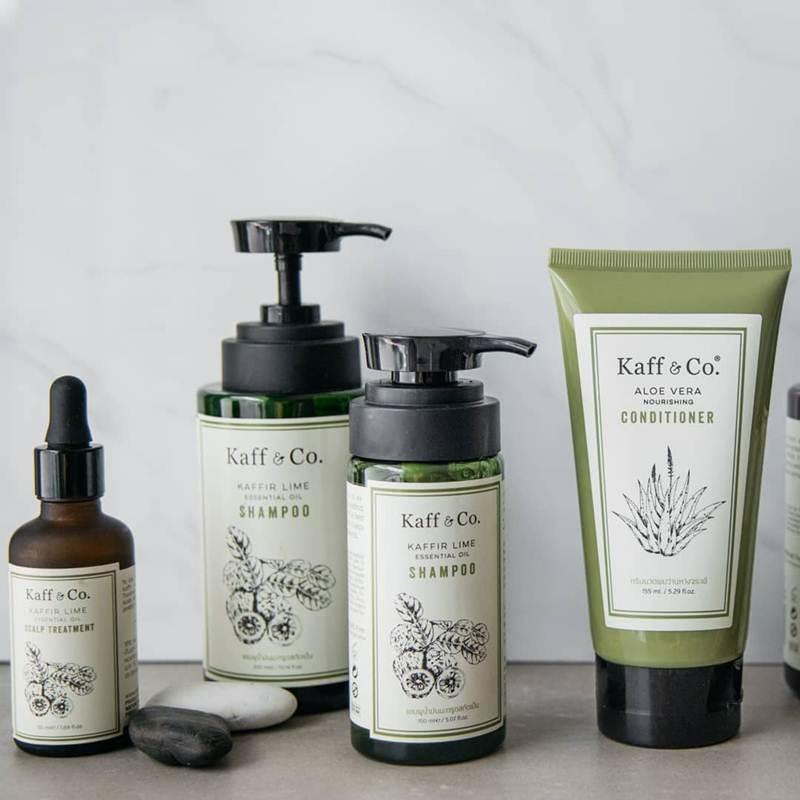 Kaff & Co. ผลิตภัณฑ์ดูแลเส้นผมที่ผลิตจากธรรมชาติ 100%