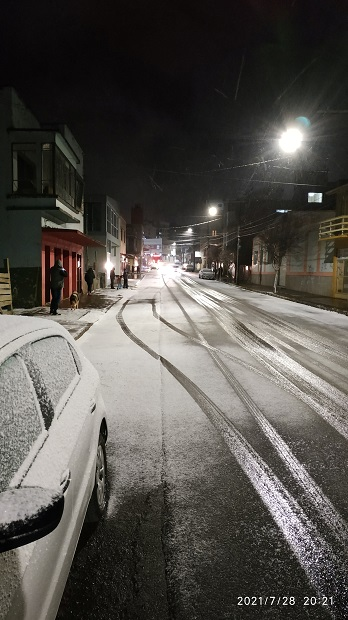 โลกวิปริต!คนบราซิลเจอหิมะตกเป็นครั้งแรกในรอบกว่า30ปี(ชมคลิป)