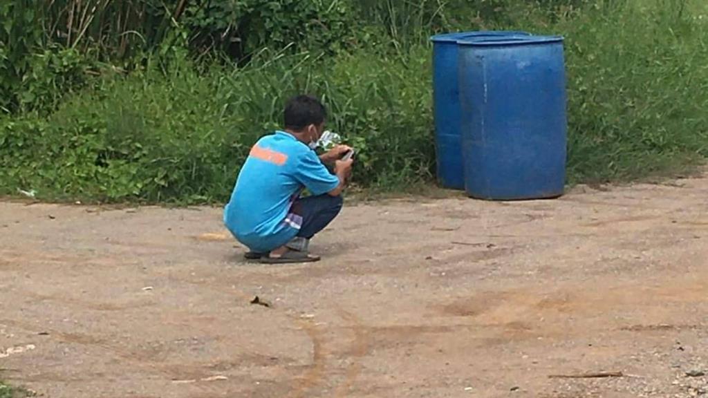 หนุ่มใหญ่เมืองราชบุรี  ติดเชื้อโควิด19 แต่ หนีการรักษาตัวออกจากรพ.สนาม