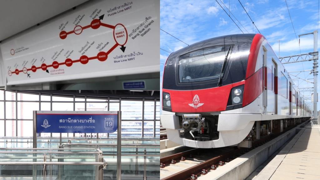 คู่มือเดินทางรถไฟฟ้าสายสีแดง จากบางซื่อถึงรังสิตและตลิ่งชัน ไปไหนได้บ้าง?