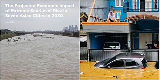 กรีนพีซ วิเคราะห์ 7 เมืองใหญ่เอเชีย พื้นที่สุ่มเสี่ยงน้ำท่วมภายในปี 2573
