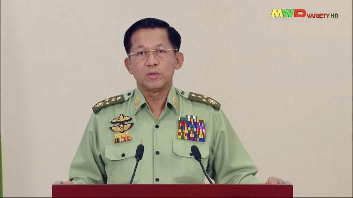 พม่าตั้งรัฐบาลรักษาการ 'มินอ่องหล่าย' นั่งนายกฯ ย้ำคำมั่นจัดเลือกตั้งปี 66
