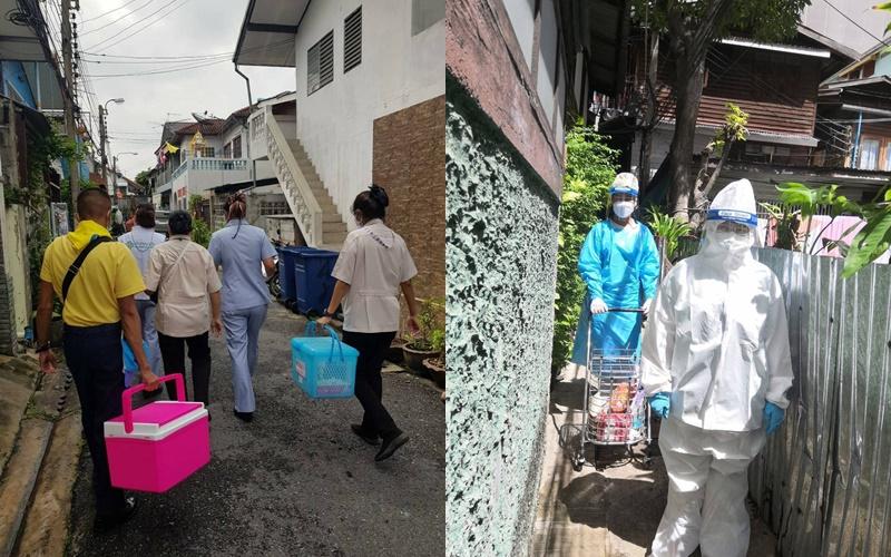 ทีม Bangkok CCRT เคาะประตูบ้านแล้วกว่า 2,000 ชุมชน ลุยค้นหาและแก้ไขปัญหาโควิดเชิงรุกต่อเนื่อง