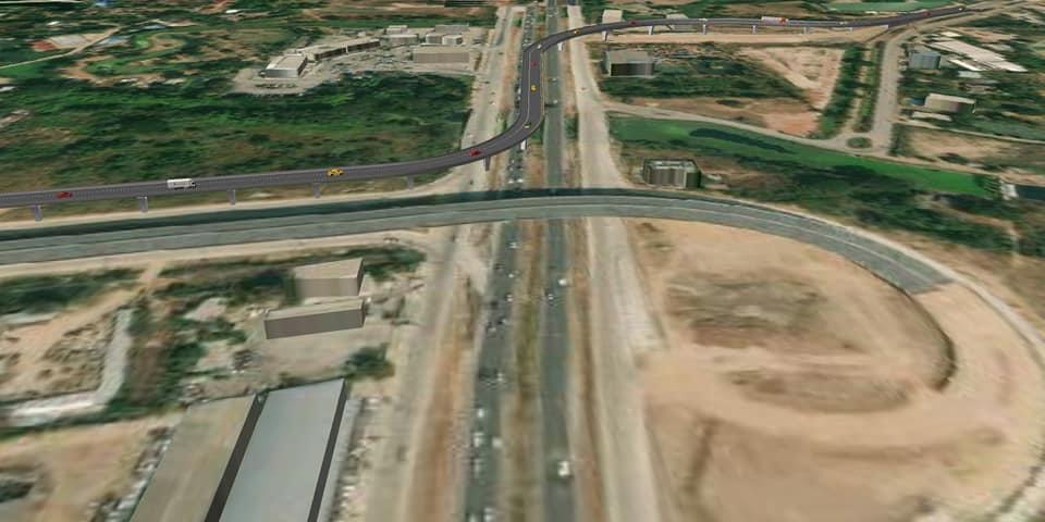 """ทล.ลงนาม ส.ค.นี้ ผุดสะพานต่างระดับ 400 ล้านเชื่อมมอเตอร์เวย์ """"บางปะอิน-โคราช"""" กับถนนสุนารี 2"""