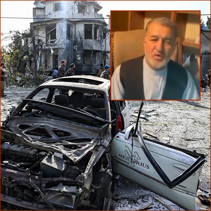 """ตอลีบานฮึกเหิมใช้คาร์บอมบ์บุกโจมตี """"บ้านรักษาการรมว.กลาโหมอัฟกานิสถาน"""" กลางกรีนโซนของคาบูล ดับ 8 ศพ"""