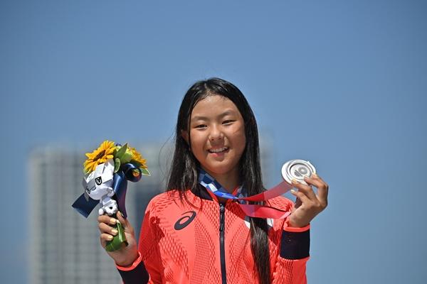โคโคนา ฮิรากิ นักสเกตบอร์ดวัย 12 ปี