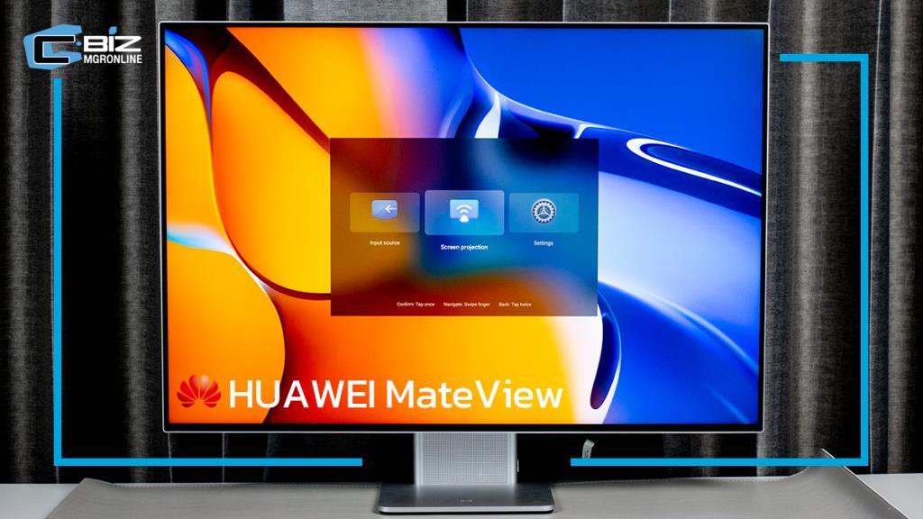 Review : Huawei MateView มอนิเตอร์ 4K 28 นิ้ว คุณภาพดี ดีไซน์สวย เชื่อมต่อสะดวก