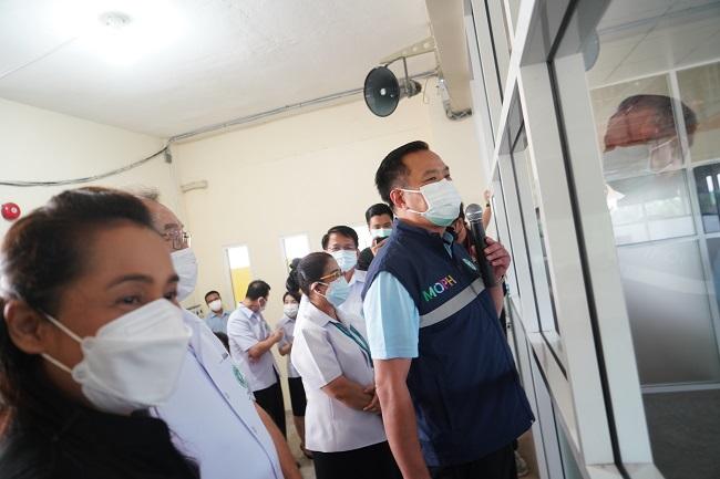 รมว.สธ.ลงพื้นที่นครนายก-ปราจีนฯ เร่งกระจายวัคซีนให้ถึง รพ.สต.ฉีดประชาชนกลุ่มเสี่ยง