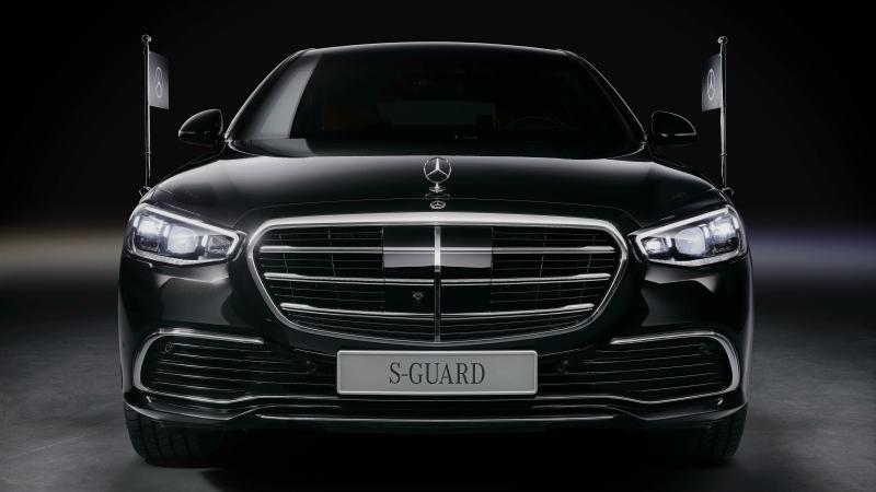 """Mercedes-Benz S 680 GUARD"" เวอร์ชันกันกระสุนเปิดตัวครั้งแรกที่เยอรมนี"