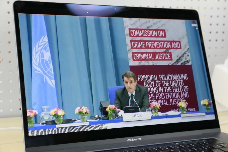 ไทยร่วมผลักดันแนวคิดสร้างความเข้มแข็งกระบวนการยุติธรรมทางอาญา  รับมือวิกฤตโควิด-19 ในเวทีสหประชาชาติ