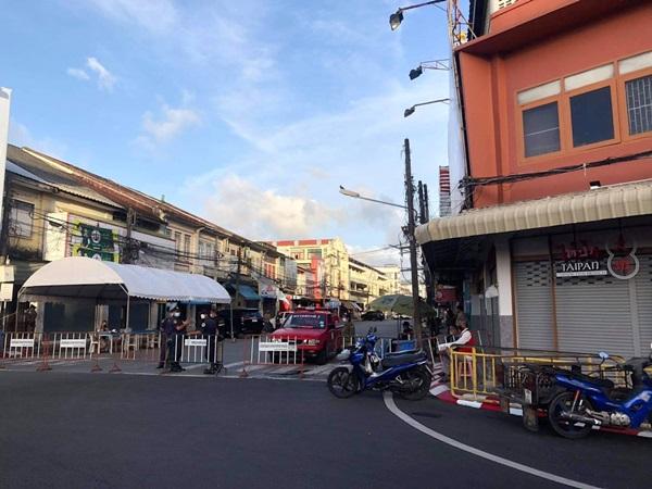 ภูเก็ตปิดตลาดสดบ้านซ่านและดาวทาวน์ กลางเมืองภูเก็ต 7 วัน หลังพลผู้ติดเชื้อร่วม 100 คน